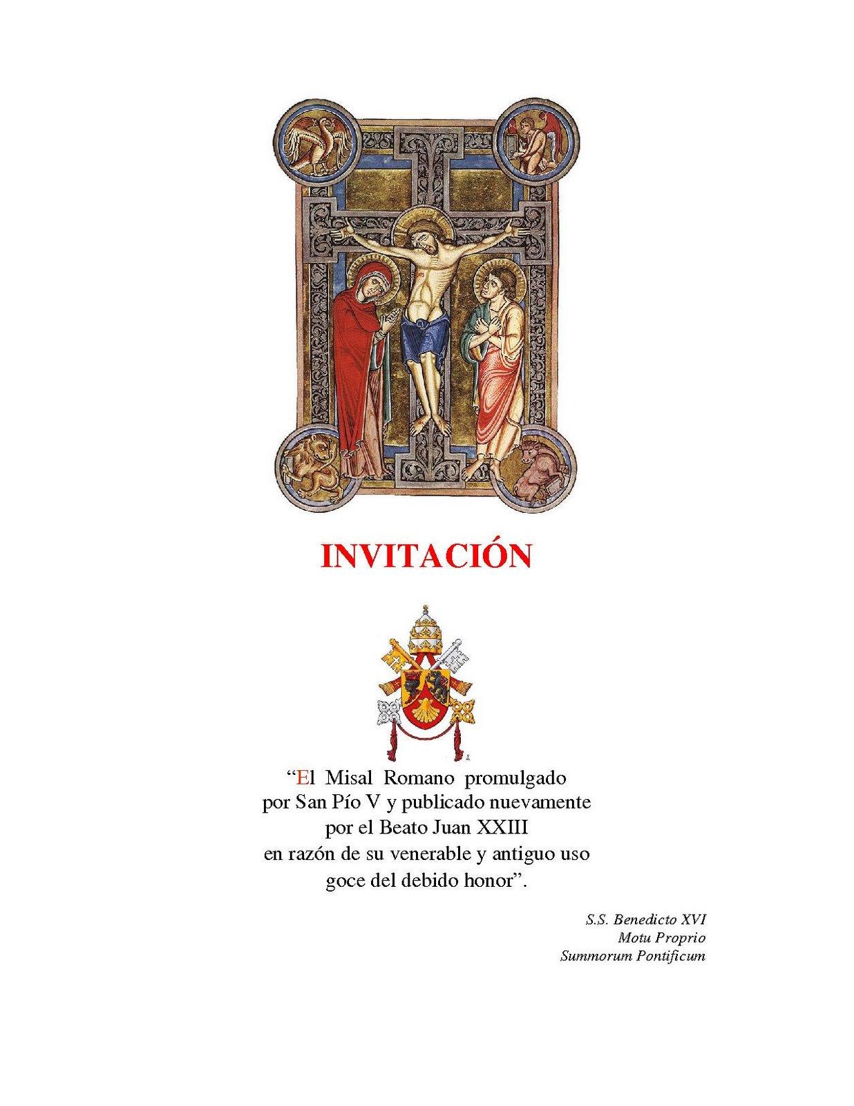 La Pasion - Festividades marianas y litúrgicas del día I - Glorias
